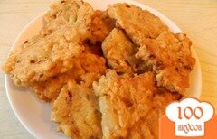 Фото рецепта: «Рыбные лепешки»