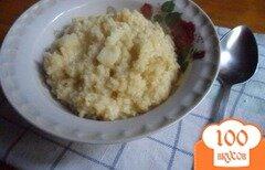 Фото рецепта: «Пшённая каша с яблоком»