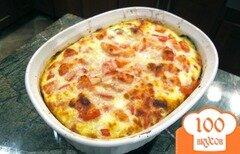 Фото рецепта: «Запеканка из кабачков с помидорами»