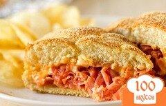 Фото рецепта: «Сэндвичи с ветчинной стружкой»