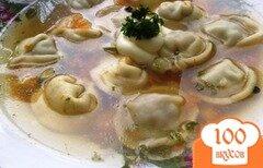 Фото рецепта: «Супчик с пелемешками»