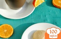 Фото рецепта: «Апельсиновое печенье с имбирем»