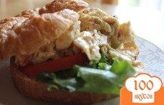 Фото рецепта: «Бутерброд с куриным салатом»