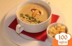 Фото рецепта: «Сырный суп с шампиньонами»