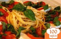 Фото рецепта: «Спагетти капрезе»