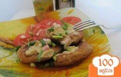 Фото рецепта: «Картофельные оладьи на ржаной муке»