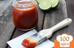 Фото рецепта: «Соус для барбекю с лаймом и чипотле»