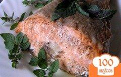 Фото рецепта: «Ароматный лосось с травами»
