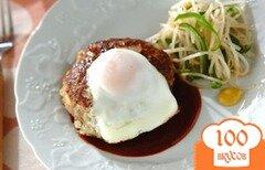 Фото рецепта: «Яичный гамбургер»