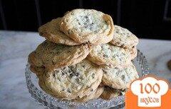 Фото рецепта: «Печенье с шоколадом»