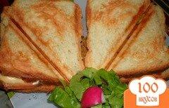 Фото рецепта: «Сендвичи по-домашнему»