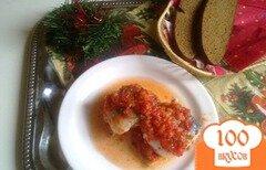Фото рецепта: «Скумбрия запеченная в томатном маринаде.»