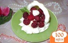 Фото рецепта: «Меренги с фруктами и ягодами.»