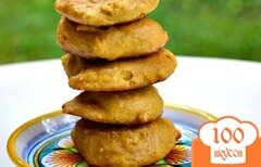 Фото рецепта: «Тыквенное печенье со специями»