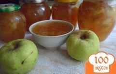 Фото рецепта: «Яблочно-имбирный джем»