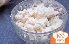 Фото рецепта: «Мороженое с грушами и сыром рикоттой»