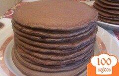 Фото рецепта: «Шоколадные панкейки»