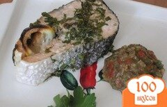 Фото рецепта: «Стейки из лосося»