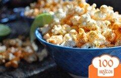 Фото рецепта: «Попкорн с копченой паприкой»