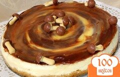 Фото рецепта: «Сливочный тарт с карамелью»