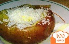 Фото рецепта: «Яблоки запеченные с маршмелоу»