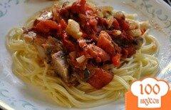 Фото рецепта: «Свиные отбивные с овощным соусом»