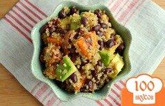 Фото рецепта: «Салат с киноа и фасолью»