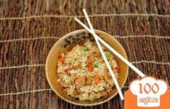 Фото рецепта: «Рис с мясом и овощами»