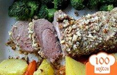 Фото рецепта: «Свинина в ореховой панировке»