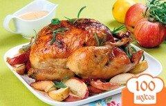 Фото рецепта: «Курица с маслятами»
