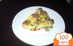Фото рецепта: «Запеканка с фрикадельками»