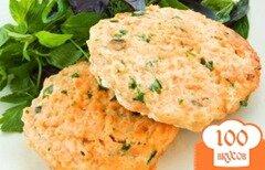 Фото рецепта: «Рыбные котлетки с морковью»