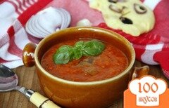 "Фото рецепта: «Тосканский густой суп ""Pappa al pomodoro""»"