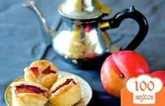Фото рецепта: «Пирожные с красной сливой»