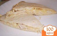 Фото рецепта: «Итальянская с курицей и сыром»