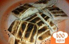 Фото рецепта: «Конвертики из тортильи и сулугуни на мангале»