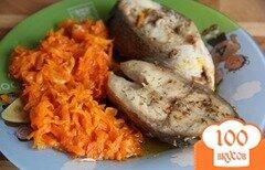 Фото рецепта: «Тушеная рыба с морковью»