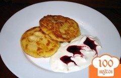 Фото рецепта: «Розовые сырники»