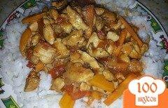 Фото рецепта: «Курица в кисло-сладком соусе»