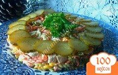Фото рецепта: «Салат с обжаренной пастой»