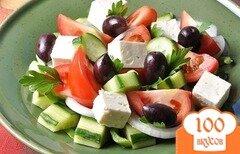 Фото рецепта: «Греческий салат с фетой»