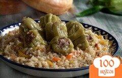 Фото рецепта: «Плов с болгарским перцем»