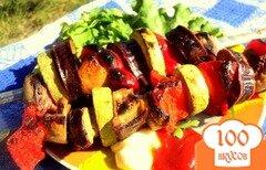Фото рецепта: «Овощные шашлыки»