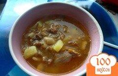 Фото рецепта: «Суп из тушенки»