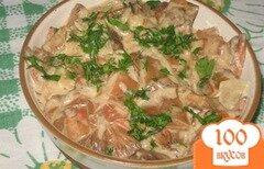 Фото рецепта: «Рыжики в сметане»
