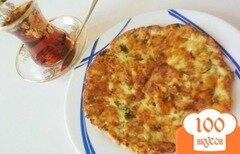 Фото рецепта: «Лепёшка к завтраку сырррная»