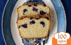 Фото рецепта: «Черничный хлеб на завтрак»