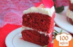 """Фото рецепта: «Торт """"Красный бархат""""»"""