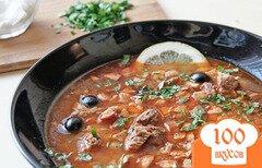 Фото рецепта: «Солянка мясная»