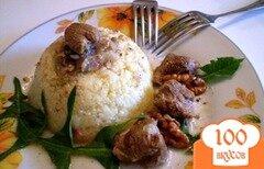 Фото рецепта: «Говядина с грецкими орехами и болгарским перцем»